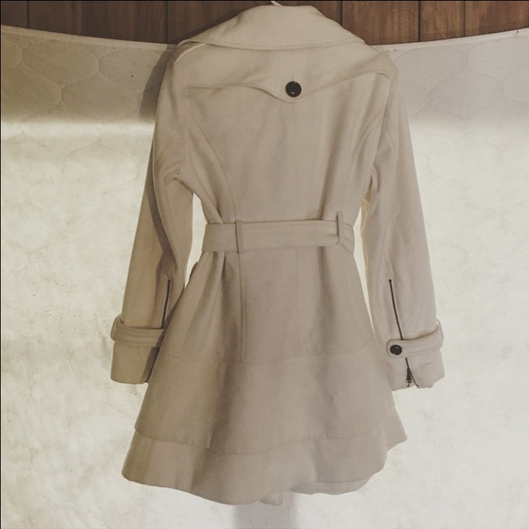 Worthington - Beautiful Cream Pea Coat from Jessica's closet on ...