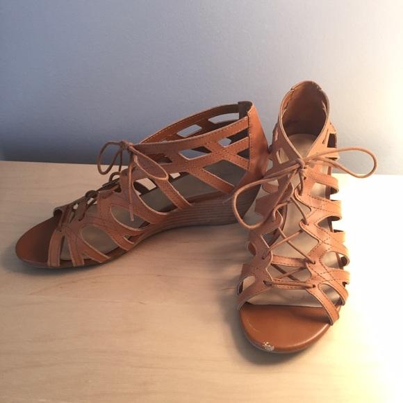 519d11ad3e2 Crown Vintage Shoes - Gladiator Sandal Wedge