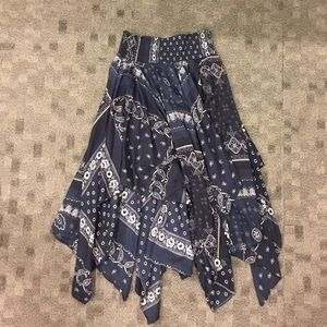 Denim & Supply by Ralph Lauren Handkerchief Skirt