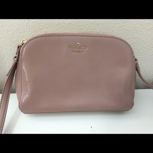 c9992a11fa22 kate spade Handbags - Kate Spade Mandy Double-zip Patent Crossbody Bag