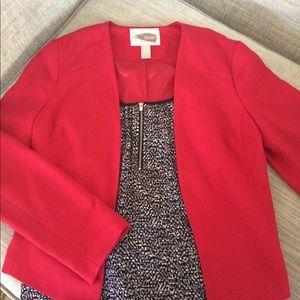 Forever 21 Jackets & Blazers - 💐HP💐Forever 21 Red Bolero Jacket