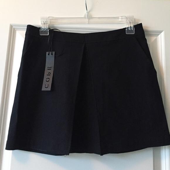fb809307034 Brand new with tags Black Cope mini skirt Sz 4