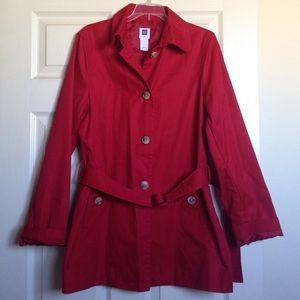GAP Jackets & Coats - Red Light GAP Coat,Weekend price drop!