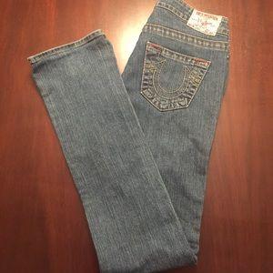 True Religion - Johnny Straight Leg Jeans