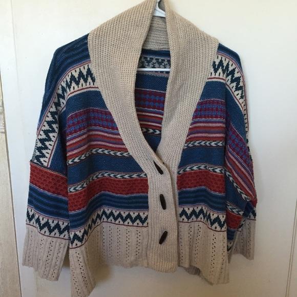 56% off Nasty Gal Sweaters - Nasty Gal Fair Isle Cardigan from ...