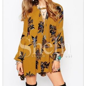 Dresses & Skirts - ❌Sold❌Yellow floral dress