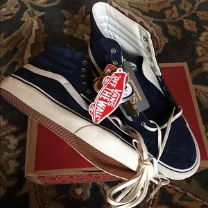 Vans for J. Crew Sk8 Slim High Tops