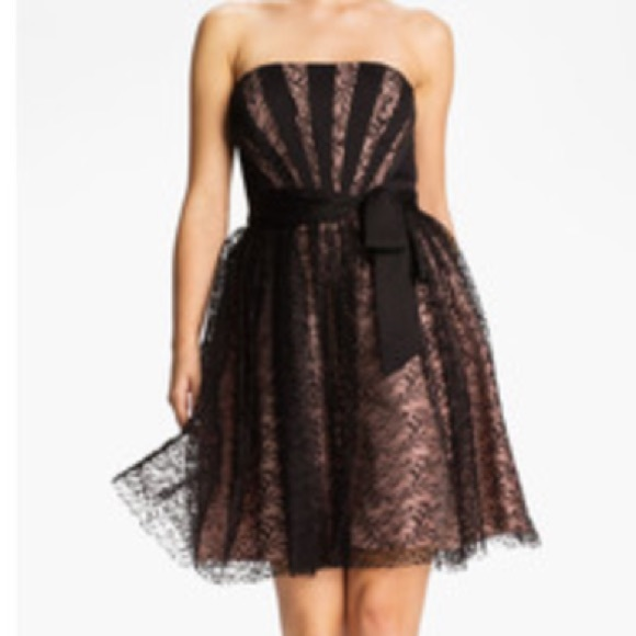 05cf87882d9d4 Max & Cleo Dresses | Final Sale Nwt Max Cleo Strapless Lace Dress ...