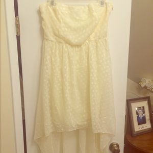 Dresses & Skirts - High low polka dot dress size large