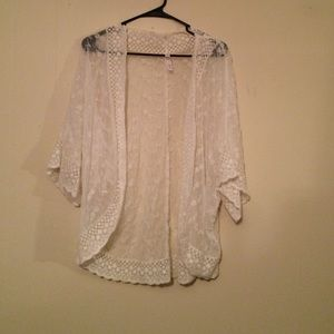 Tops - Sheer cover up top