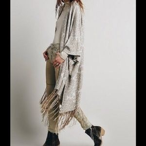 FREE PEOPLE HENDRIX KAFTAN