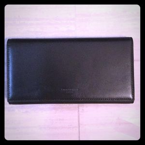 YSL Leather Flap Wallet