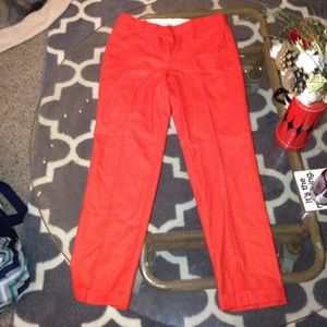 J. Crew Cafe Capri Trousers