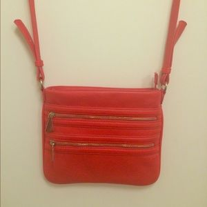 Handbags - Gorgeous bright coral colored absolutely beautiful