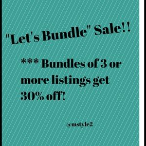 Other - ‼️Bundles of 3 or more listings=30% off‼️