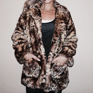 Jackets & Blazers - FAUX FUR JACKET