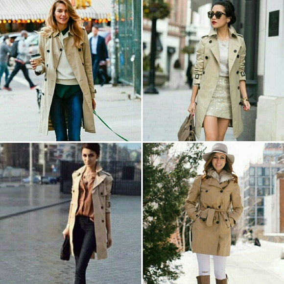 67% off Old Navy Jackets & Blazers - Classic Trench Coat in EUC w ...