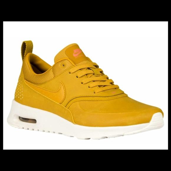 more photos 40f26 ecc6e Nike Air Max Thea - Premium - Mustard Boutique
