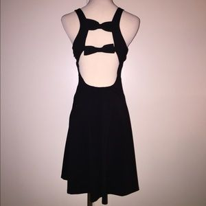Julie Brown Sleeveless Bow Ponte Dress