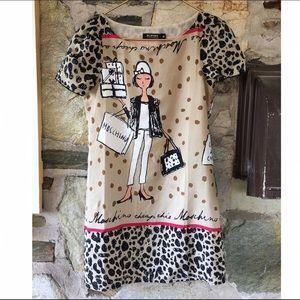 ROMWE Dresses - Romwe leopard shopping lady dress