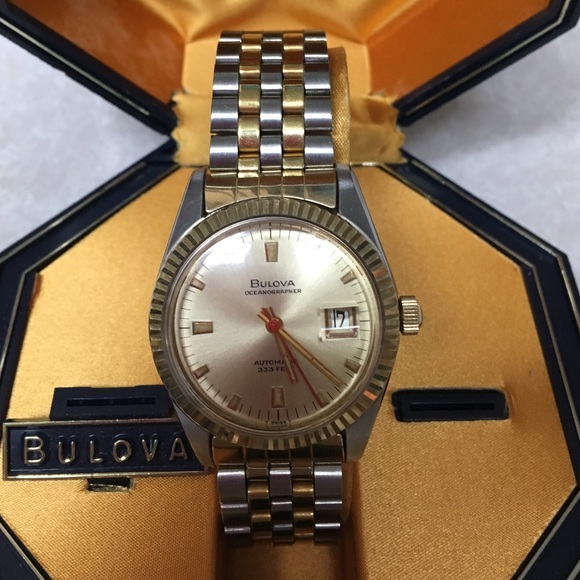 Bulova Accessories | Oceanographer Watch With Date | Poshmark