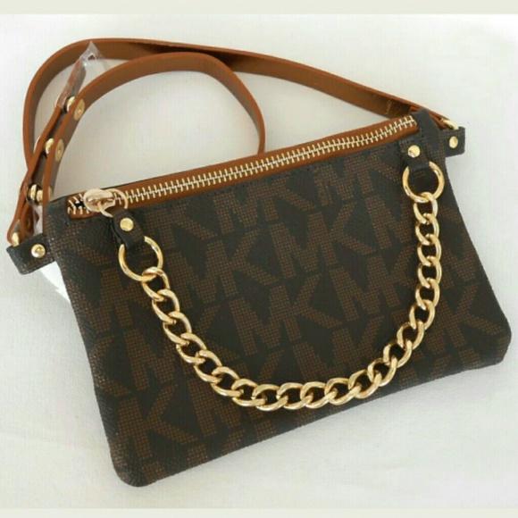 dec765f7524d Michael Kors Pull Chain Belt Bag