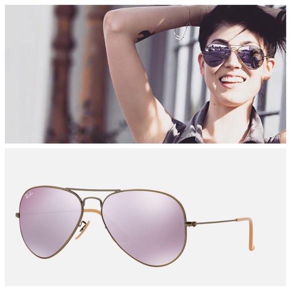 29bfe8c8e92 Ray Ban RB3025 58mm aviator Lavender sunglasses. M 56758ad041b4e069d1002c41
