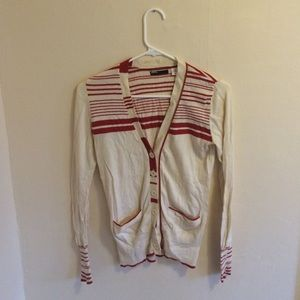 Urban Outfitters BDG Striped Varsity Cardigan