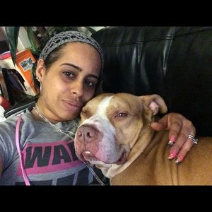 Me and my pit bull