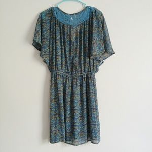 Xhilaration Dresses - Xhiliration boho print dress