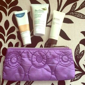 Multiple Other - High End Skin Care Samples with Make Up Bag NEW