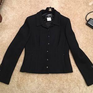 Chanel boucle wool blazer