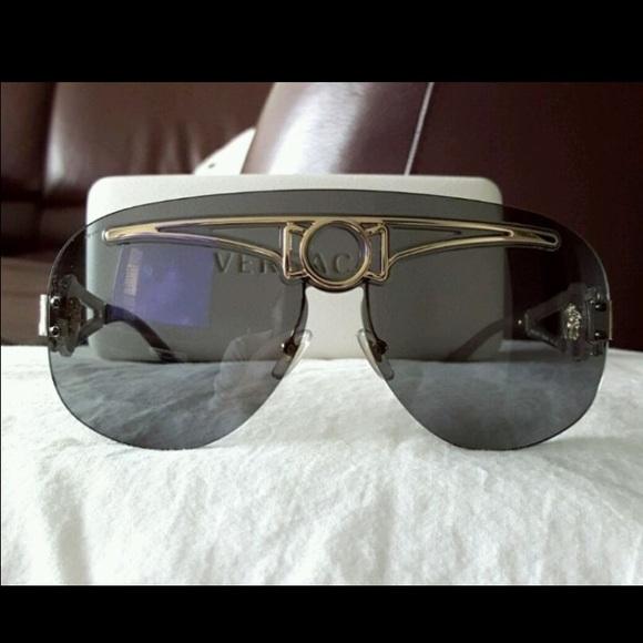 3c922dd59d4 Auth vintage Versace sunglasses medusa aviator. M 565222de47da8101af024f47.  Other Accessories ...