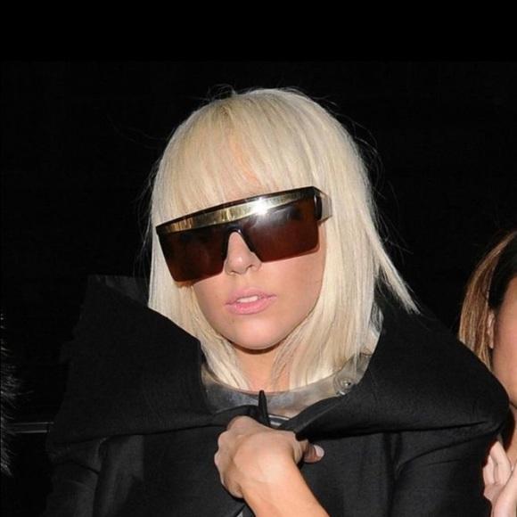 60ae385ef4d Gianni Versace vintage sunglasses lady gaga gold. M 5652263ea88e7d99c4004471