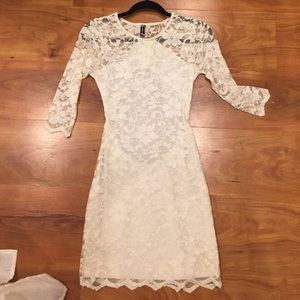 Sexy lace dress!
