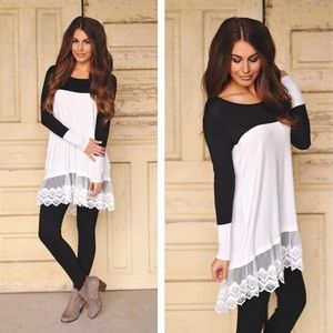 LAST ONE!!! White Lace Trim Tunic Top❤️