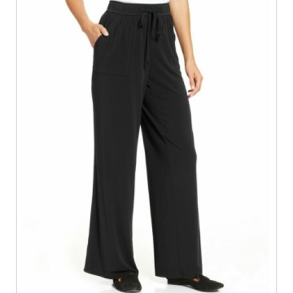 36596f8e468 Charter Club Plus Size Wide-Leg Soft Pants