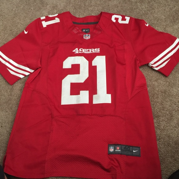 official photos e0b47 2e08d Authentic Nike on field frank gore 49ers jersey