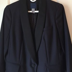 BLACK FRIDAY SALE ! JCrew Navy Tuxedo Coat - Sz. 6