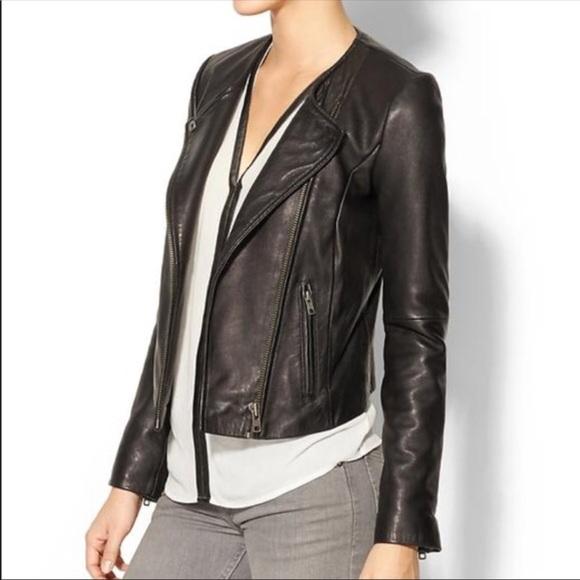 8196d458699 Joie Jackets & Coats | Asymmetrical Zip Leather Jacket | Poshmark