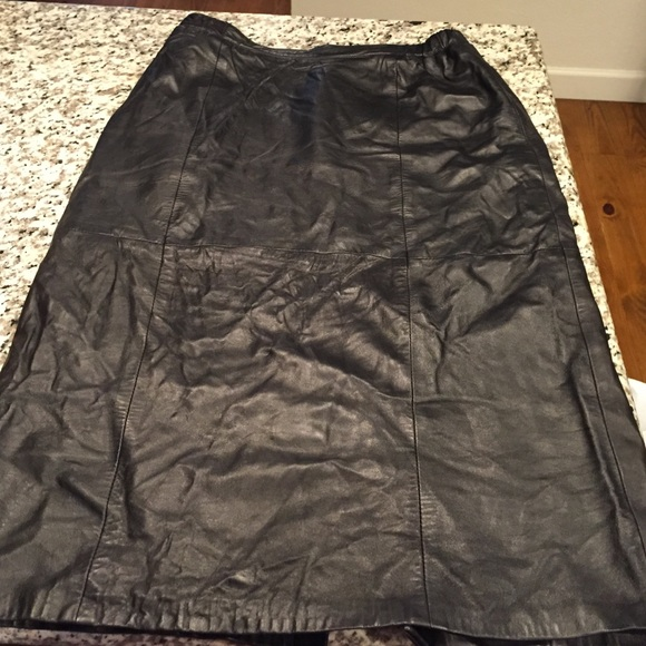 Bettina - Leather skirt size 18 from Ginny's closet on Poshmark
