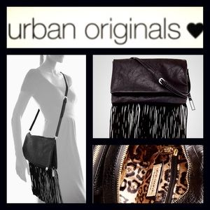 Urban originals Handbags - %Sale% Urban Original's Fringe Clutch/ Cross Body
