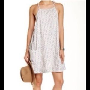 FREE PEOPLE EVERLONG DRESS IN STONE COMBO