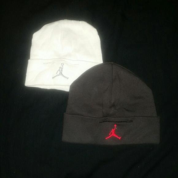 Jordan Other - White Jordan Baby Boy Beanie Hat da83200645e