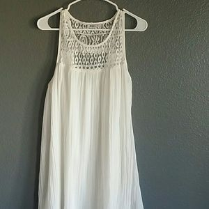 Just Fab White Dress
