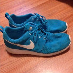 Blue Nike Kicks