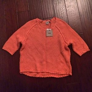 NWT ASOS CORAL SWEATER