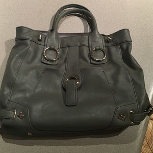 Two handle grey tote