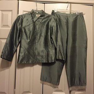 ICE Pants - ICE 100 Percent Silk Set