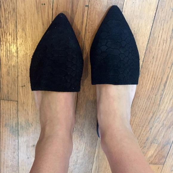 b7b4f6cc3 Urban Outfitters Shoes | Silence Noise Black Flat | Poshmark